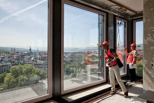 Die traumhafte Aussicht über Zürich