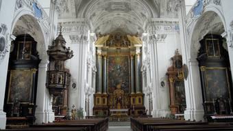 Jesuitenkirche Solothurn wird 2015 restauriert