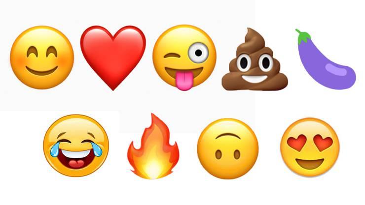 Gefühle und Symbole statt Text.