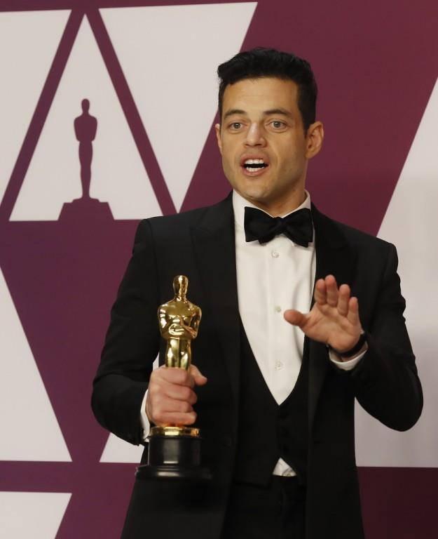 An den Oscars 2019 wurde Malek als bester Hauptdarsteller in «Bohemian Rhapsody» ausgezeichnet. (© Keystone)