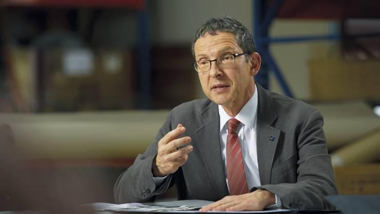 Regierungsrat Urs Hofmann kandidiert für eine 2. Amtszeit.