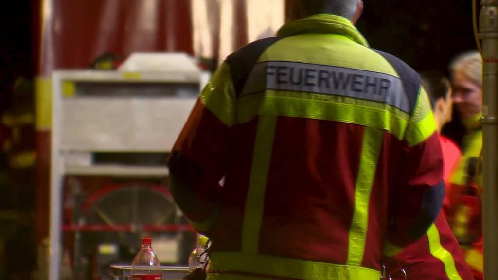 Brand in Buchs: 71-jährige Frau stirbt, Mann muss ins Spital