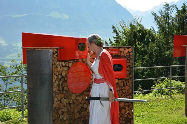 «Helvetia» entdeckt die Freilichtausstellung «Geschichtsreise Seelisberg-Rütli».