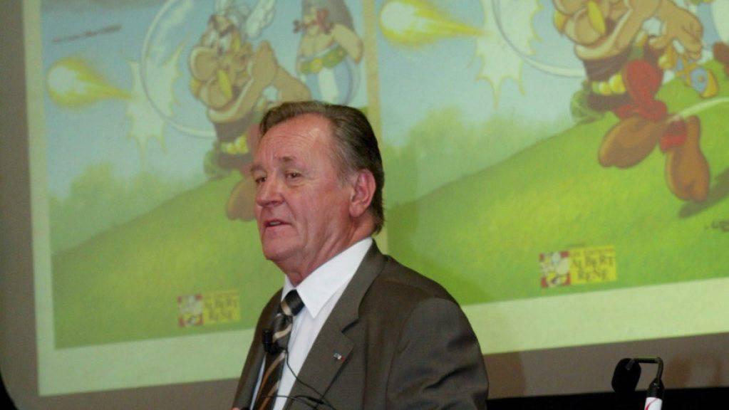 Der Asterix-Zeichner Albert Uderzo ist gestorben. (Archivbild aus dem Jahr 2005)