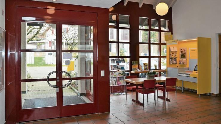 Die Postagentur im Gemeindehaus von Eggenwil: Der Gemeinderat denkt über eine Aufhebung nach.