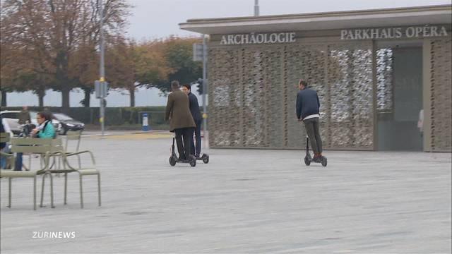 Lime-Scooter in Zürich bekommen Konkurrenz