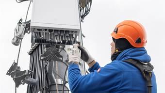Die ersten 5G-Antennen sind bereits seit April in Betrieb. Keystone