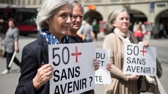 Der Verband Avenir50plus setzt sich für Ausgesteuerte ein. (Archivbild)