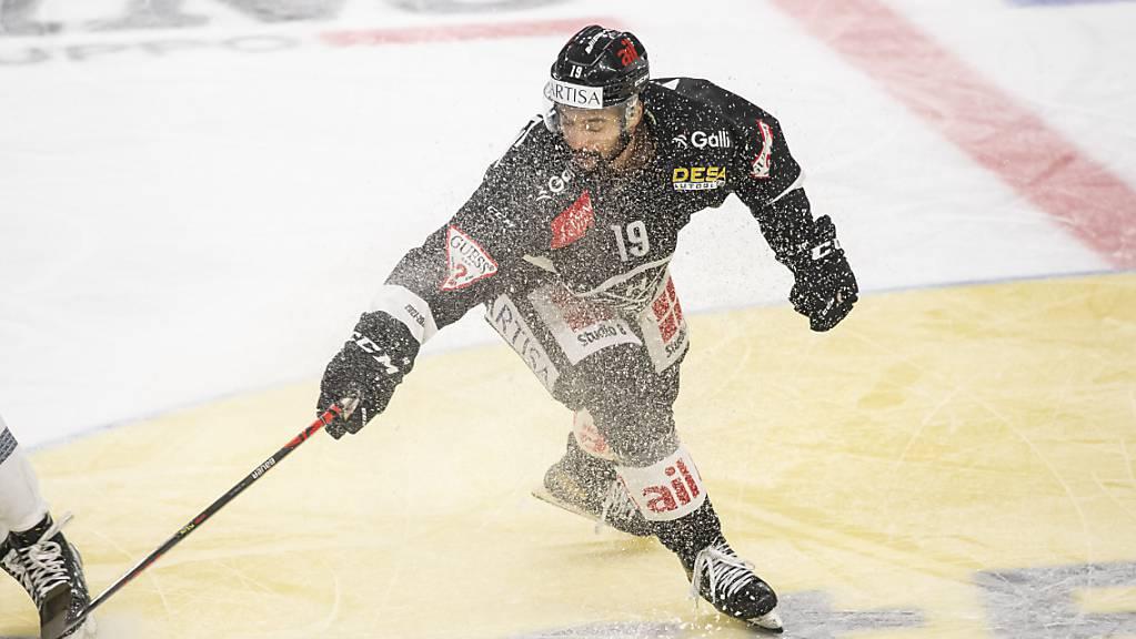 Fehlt Lugano mehrere Wochen: der kanadische Stürmer Troy Josephs.