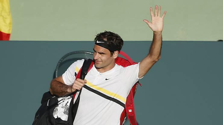 """""""Pause und Training nötig"""": Roger Federer verabschiedet sich nach dem frühen Aus in Miami für zwei Monate von der Tour"""