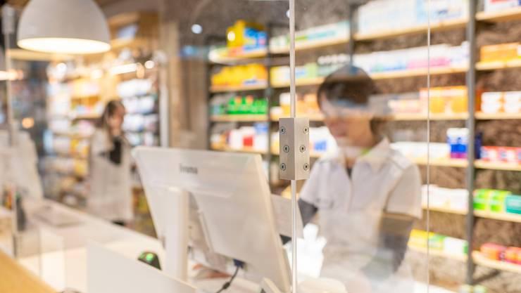 Die Apotheken bereiten sich auf die Durchführung von Schnelltests vor. (Symbolbild)