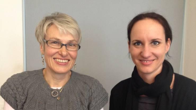 Monika Schmid (links) und Eveline Gloor im Co-Präsidium. zvg