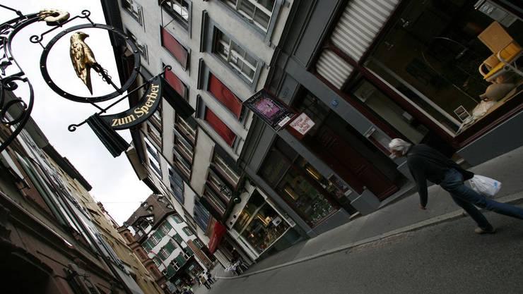 Spalenberg in Basel
