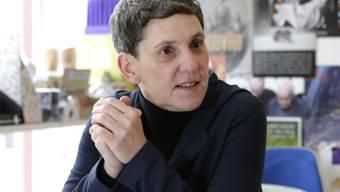 Die Schriftstellerin Felicitas Hoppe.