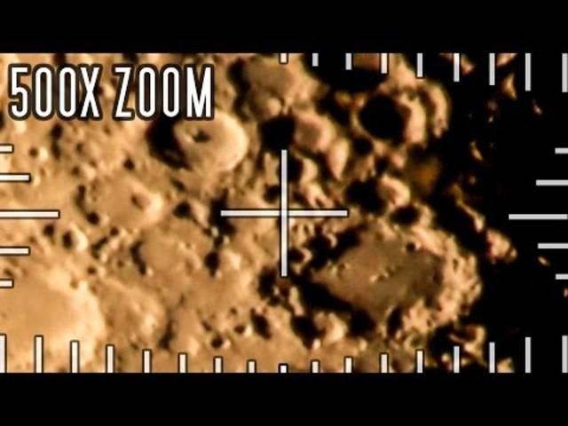 Laut dem Urheber ist es mit einem Sigma 150-600mm Super-Teleobjekiv und zusätzlichen Telekonvertern gefilmt worden.