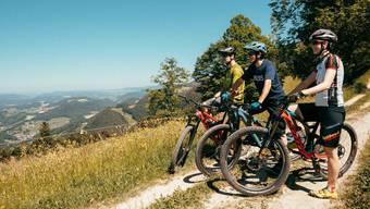 Das Baselbiet lockt Mountainbike-Touristen mit einer speziellen Karte.