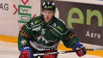 Der Ex-Oltner Florian Schmuckli spielt neu im EVZ-Farmteam.