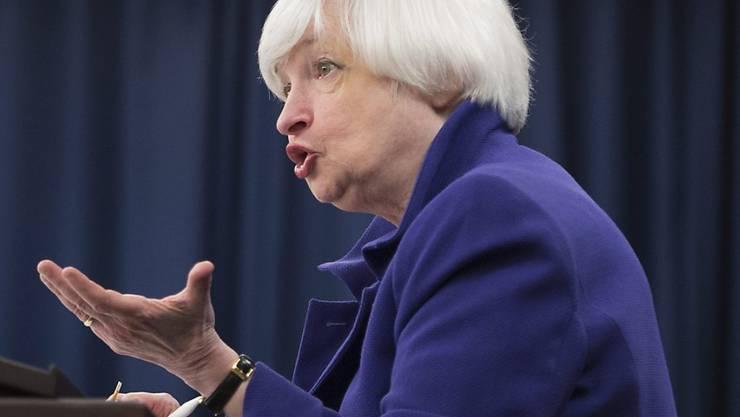 Janet Yellen bewegt mit ihrem Entscheid die Schweizer Börse (Archivbild).