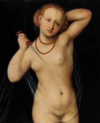 Lucas Cranachs «Lucretia», ebenfalls nackt. (zvg)