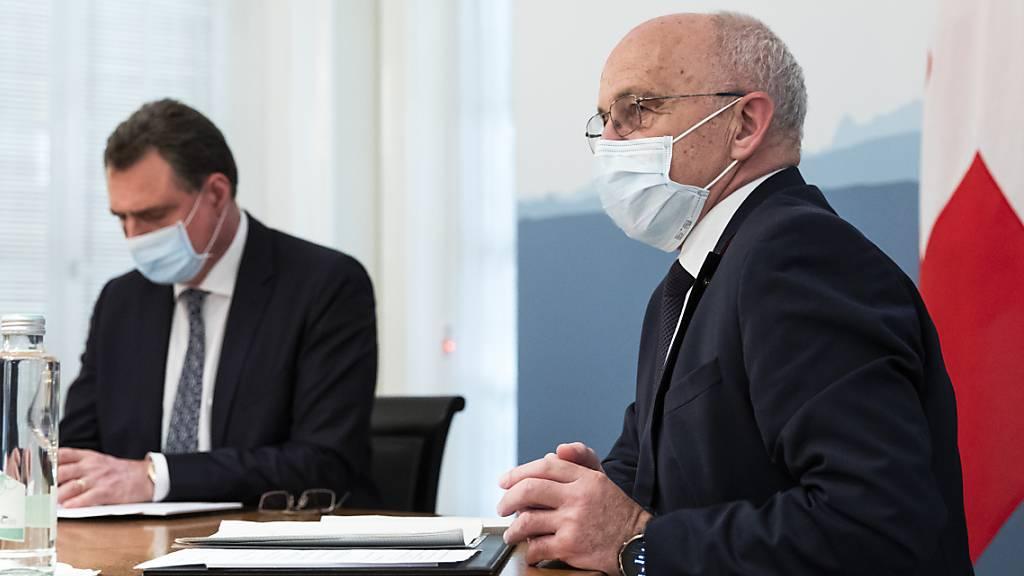 Maurer: Schweiz offen für globale Unternehmenssteuer