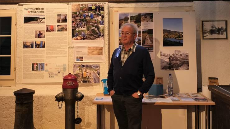 Paul Isenring vom Ortsmuseum hat die Ausstellung gemeinsam mit Teamkollegen konzipiert.