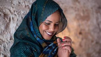 Aziza Brahim gehört dem Volk der Sahraui an.