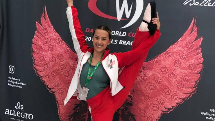 Adriana Andrade feierte am «Dance World Cup» Erfolge