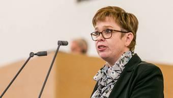 Die grüne Grossrätin Ruth Müri fordert mit ihrer Partei höhere Investitionen ins Aargauer Bildungssystem. (Archivbild)