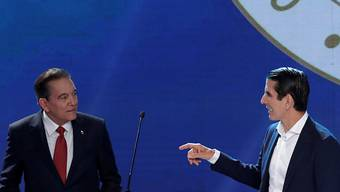 Bei der Wahl um das Präsidentenamt in Panama zeichnet sich ein knapper Wahlentscheid zwischen Laurentino Cortizo (links) und Rómulo Roux (rechts) ab. (Archivbild)