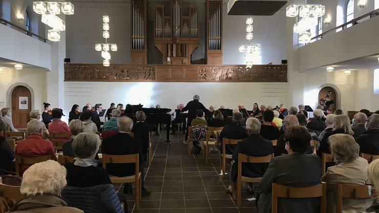Unter dem Motto «Johann Sebastian Bach und seine Familie» spielte das Streichorchester Dietikon am Sonntag in der Reformierten Kirche Dietikon auf.