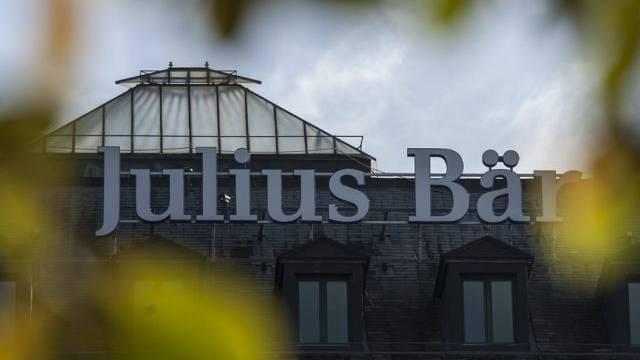 Blick auf die Filiale der Bank Julius Baer in Genf (Archiv)