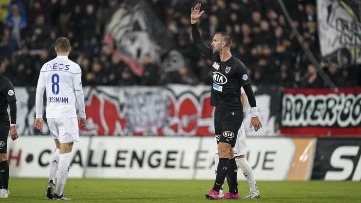 Maierhofer konnte bisher nicht an die Leistung aus der vergangenen Saison anknüpfen.