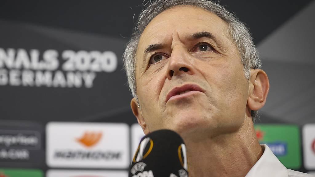 Trainer Marcel Koller beschönigte nach der 1:4-Niederlage des FC Basel im Viertelfinal der Europa League gegen Schachtar Donezk nichts