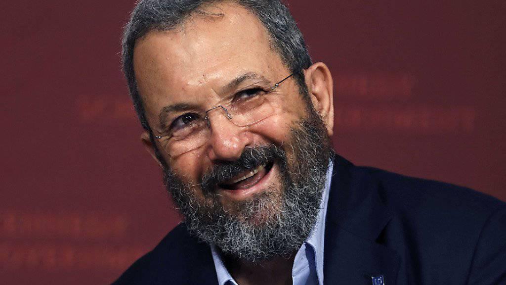Ehud Barak gründet neue Partei