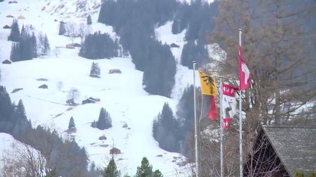 Winter-Chaos im Berner Oberland