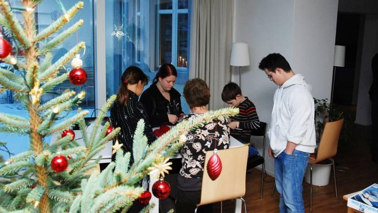 In den Wohngruppen des Kinderheims Brugg wurden die Kinder auch über die Festtage betreut. (Foto: Toni Widmer)