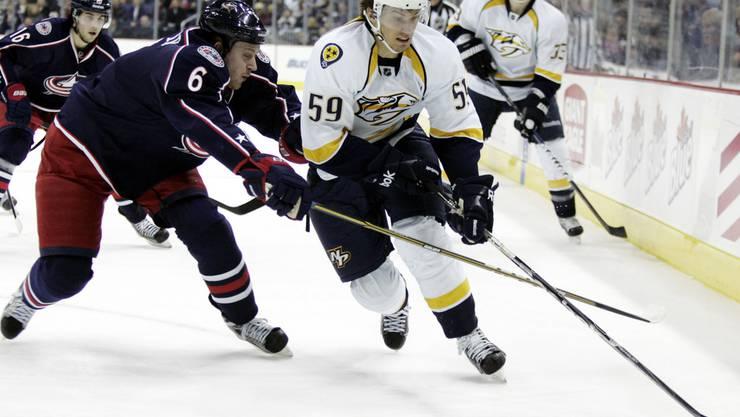Von den sieben Schweizer NHL-Spielern steht nur noch Roman Josi im Einsatz