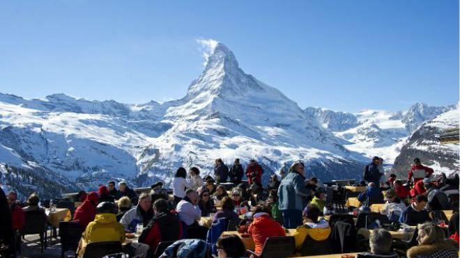 Wieder ein Magnet für deutsche Gäste: Das Matterhorn und Zermatt. Foto: Keystone