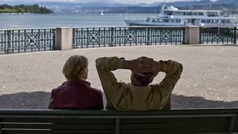 Es macht sich eine gewisse Verunsicherung breit, was die finanzielle Sicherheit im Alter angeht. Frühpensionieren ist deshalb im Trend. (Symbolbild)