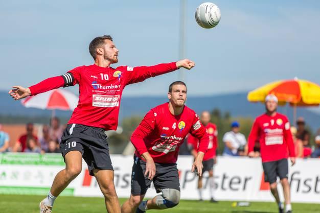 In der Mannschaft von Diepoldsau laufen mehrere potenzielle Schweizer Nationalspieler auf, die sich für eine Teilnahme an der Heim-WM in Winterthur empfehlen wollen, die im August stattfindet.