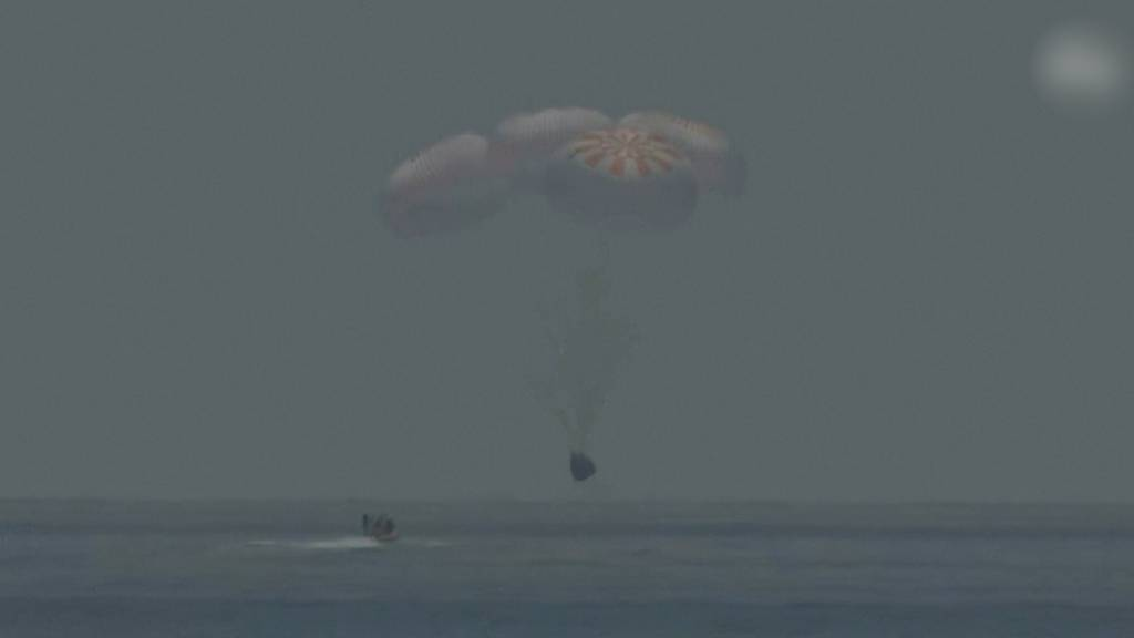SpaceX-Gründer Elon Musk euphorisch nach Rückkehr der ISS-Raumfahrer