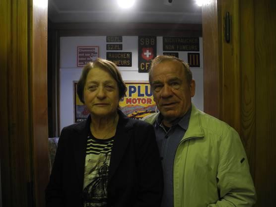 Beatrice und Fredi Giger sind bereits seit 50 Jahren verheiratet. Seit dem Jahr 1970 wohnen die beiden in Dietikon. «Während dem Apéro haben wir sogar einen Urdietiker kennen gelernt, der heute zum ersten Mal im Ortsmuseum war», erzählt Giger etwas ungläubig.