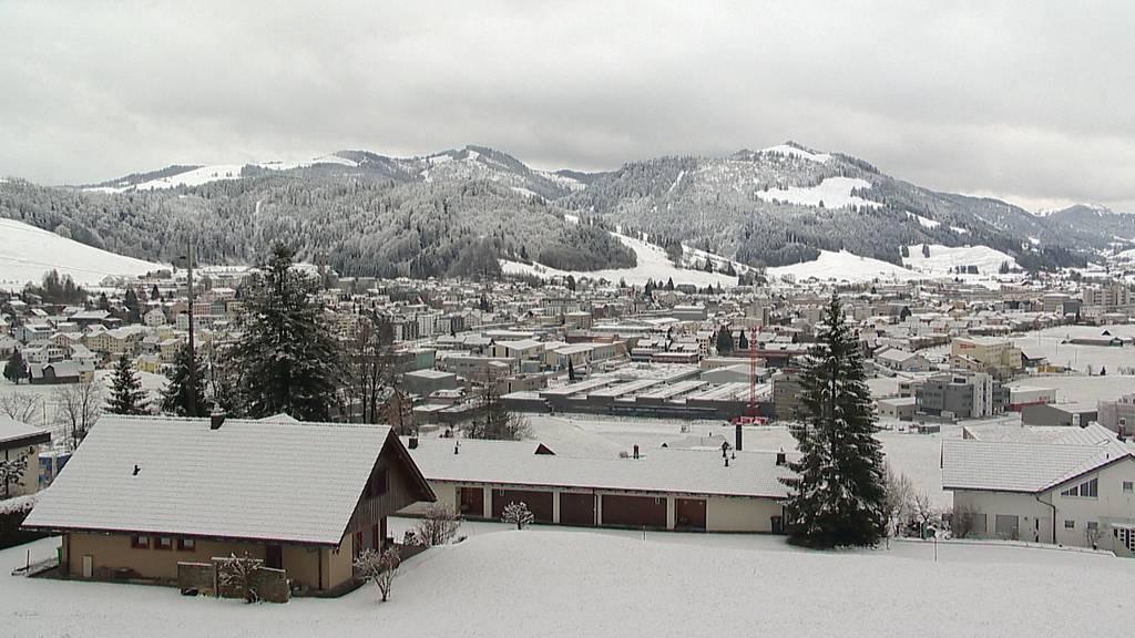 Erster grösserer Schneefall im neuen Jahrzehnt