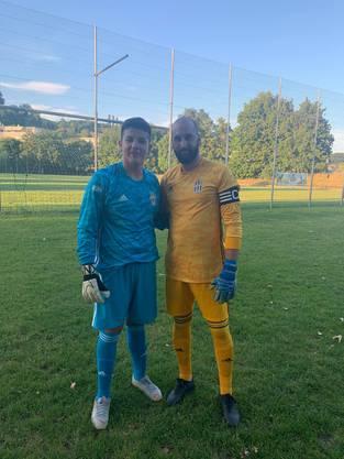 Förderung des Junioren Torhüters Dilen Boqaj  und Stammkeeper Marin Lovric