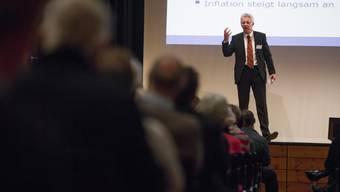 Wirtschaftsprofessor Thomas Straubhaar zeichnet für die Schweizer Konjunktur ein positives Bild, nicht zuletzt wegen der Entwicklung in Frankreich.