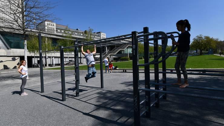 Der Bedarf nach Sport im öffentlichen Raum steigt.