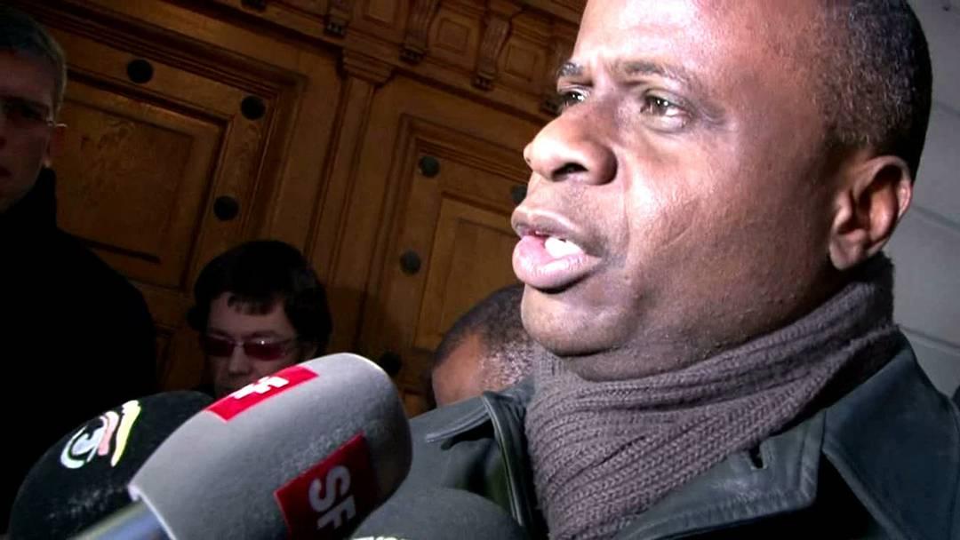 SP-Nationalrat Ricardo Lumengo im Interview nach der Urteilsverkündigung