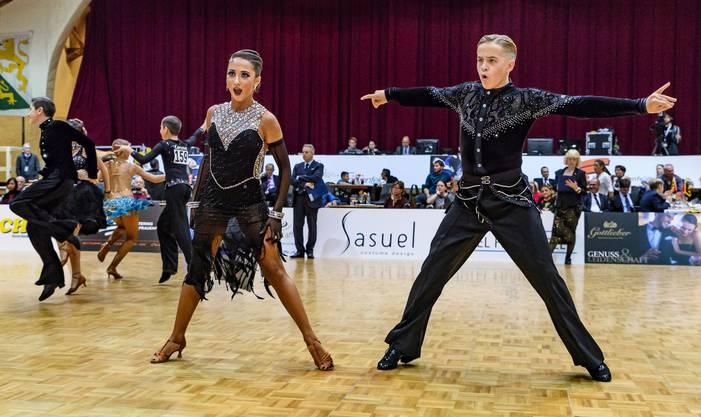 Philipp Hofstetter und Natalie Cremar an den Schweizermeisterschaften - zwei, die harmonieren