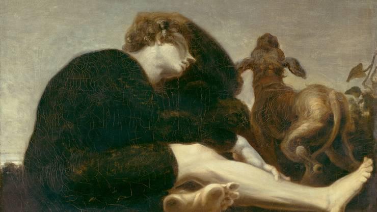 Johan Heinrich Füssli: Einsamkeit im Morgenzwielicht, 1794-96