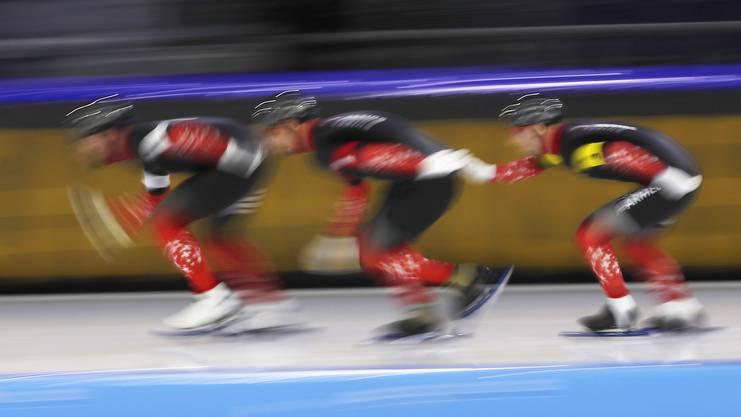 Im Teamsprint-Weltcup holten sie sich gleich im ersten Rennen in Minsk den sechsten Platz.